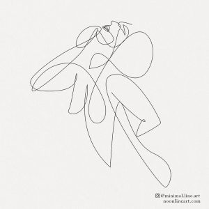 abstract-fine-line-tattoo-art-woman-drawing