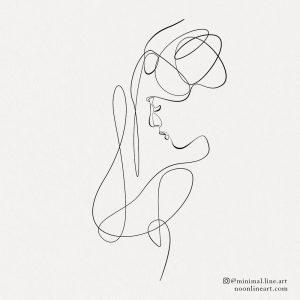 abstract-line-art-tattoo-of-woman