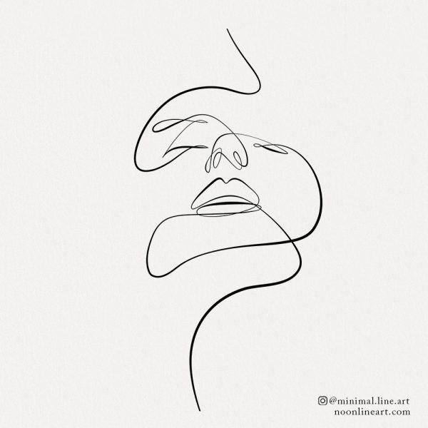 elegant-line-tattoo-face-illustration-abstract