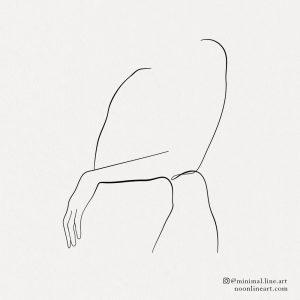 female-body-line-art-sitting-pose-tattoo-drawing
