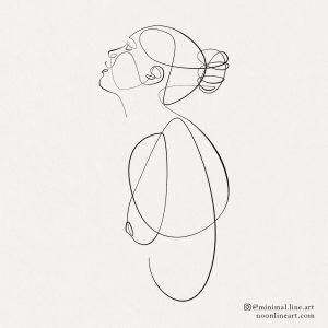 single-line-tattoo-design-woman-abstract-art