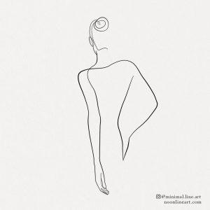woman-female-back-line-art-tattoo-simple